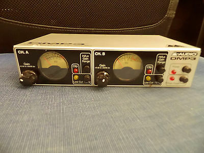 "2-fach Mic Preamp M-Audio DMP3 ""Dual Microphone Pre Amplifier"", sehr gut"