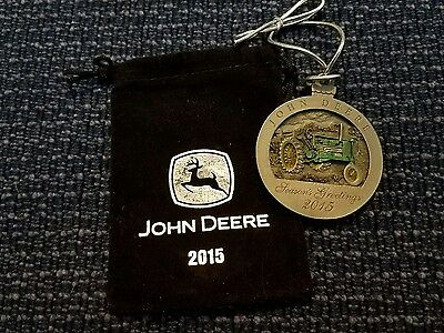 2015  John Deere Tractor Collectable Christmas Ornament