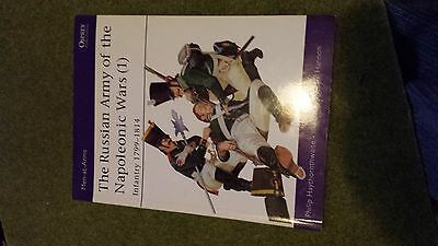 OSPREY Russian Armies of  The Napoleonic Wars Part 1 Infantry
