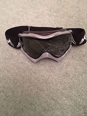Bnwot Active Grey And Black Ski Goggles With Adjustable Strap