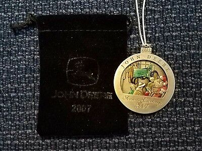 2007 John Deere Tractor Collectable Christmas Ornament