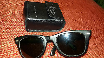 Ray Ban vintage Wayfarer Folding Bausch & Lomb USA with original case