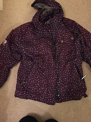 Girls Purple Ski jacket.