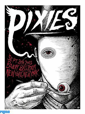 The Pixies 2013 Tour Concert Band POSTER PHOTO ART Music PICTURE 1