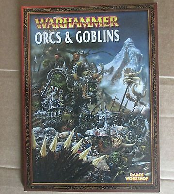 Orcs & and goblins warhammer fantasy army armies book games workshop 2000
