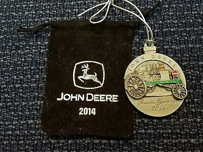 2014 John Deere Tractor Collectable Christmas Ornament