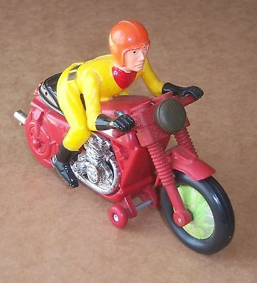 Vintage 1950s 1960s Hong Kong made Motorcycle Racer friction