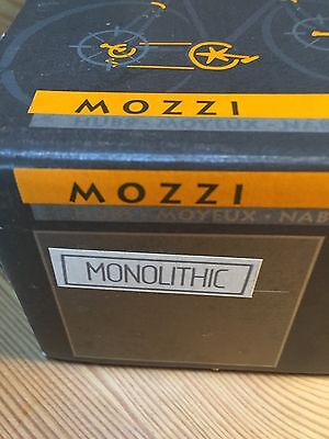 MICHE MOZZI MONOLITHIC HUBS 36 HOLE Front And Rear RRP£99.95