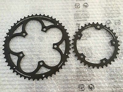 New Campagnolo Super Record Compact Chainrings 50/34 11-Speed