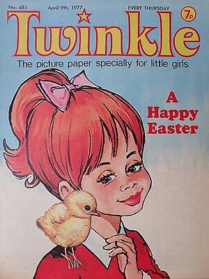 TWINKLE COMIC - 9th APRIL 1977 (9th - 15th) - RARE LADY'S 40th BIRTHDAY GIFT!!
