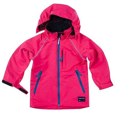 BNWT New Polarn O Pyret Girls Shell Jacket Pink