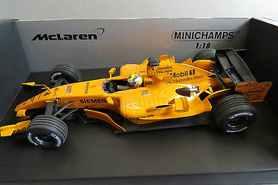 MINICHAMPS 1:18 McLAREN MERCEDES MP4 INTERIM LIVERY MONTOYA MINT VERY RARE