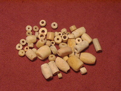 Ancient Shell/Bone Lose Beads Roman 200 BC NO RESERVE     #BK1057