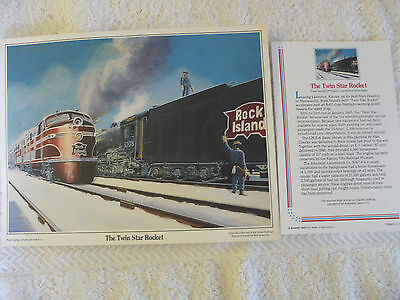 Vintage Automatic Switch Co. Advertising Print from ASCO Historic Locomotive