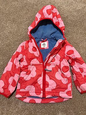 Pretty Mini Boden Girls Fleece Lined Cosy Anorak age 3-4 Years