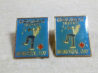 """""""Memorial Day"""" an American Red Cross Blood Services Holiday Hero pin"""