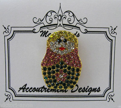 Accoutrement Designs Russian Nesting Doll Needle Minder Magnet Mag Friends