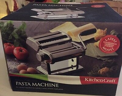 Kitchencraft Pasta Maker Brand New In Box, Unwanted Gift