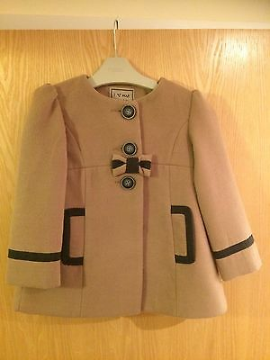 Girl's Smart Coat From Next Age 3-4