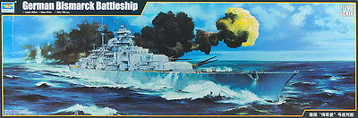 "Trumpeter #3702 - 1/200 scale German WWII Battleship ""Bismarck"" kit - NEW!"