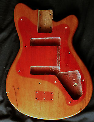Vintage Vox Clubman Bass Body - Project Parts