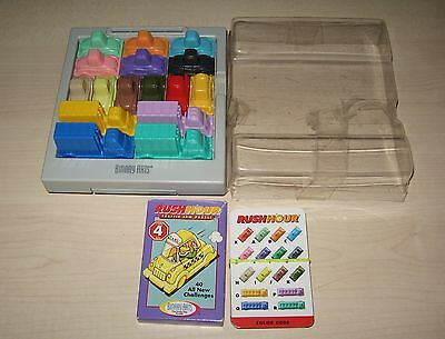 Rush Hour Games 1 & 4 ~ Two Traffic Jam Games  ~ Incomplete Missing 1 green car