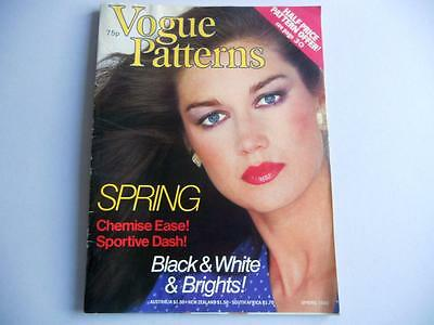 Vogue Patterns Magazine - Fashion, Glamour, Style, Elegance,  Spring 1980