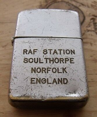 1955-1964 420Th Air Refuelling Squadron Raf Sculthorpe Not A Zippo Lighter
