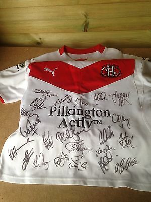 Rugby League Shirt Signed St Helens Worn