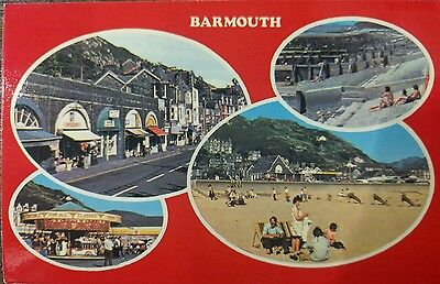 Wales ,barnmouth Multi-View Unused Postcard  From Collection M5