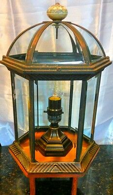 Steampunk Themed Inspired Upcycled Table lamp