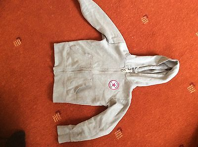 converse girls track suit Top And Bottoms. Grey