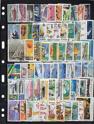Lovely Boats/shipping/nautical Stamps Various From Collection 1