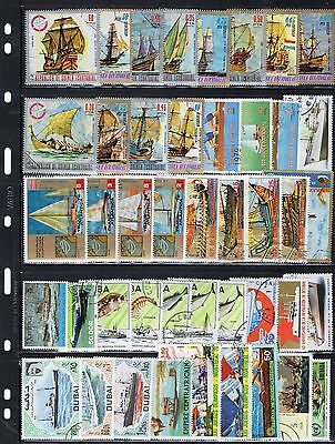 Lovely Boats/shipping/nautical Stamps Various From Collection 3