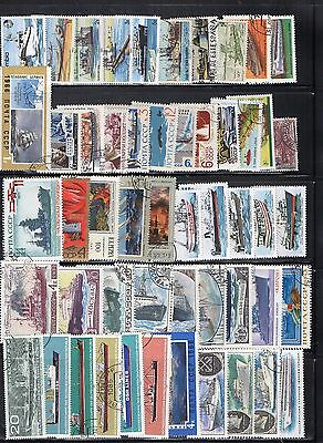 Lovely Boats/shipping/nautical Stamps Various From Collection 4