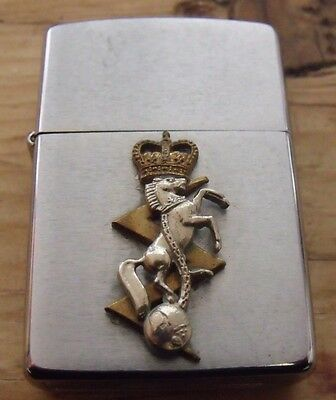1997 Royal Electrical Mechanical Engineers Reme Zippo Lighter Superb Condition