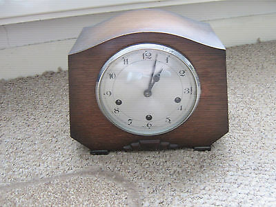 smiths enfield full westminster chime clock