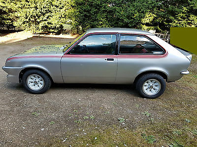 1977 Vauxhall Chevette Hs Silver 16V Twin Cam Immaculate Fully Restored Car No 1