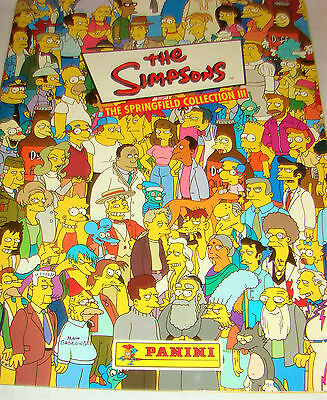 Album Complet Panini Simpsons The Springfield Collection Iii