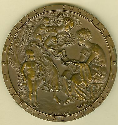 1956 Belgium Congo Medal for International Society of Forestry & Mining of Congo