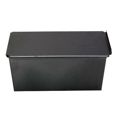 2X(10S8 Rectangle Bakeware Nonstick Box Large Loaf Tin Kitchen Pastry Bread C)