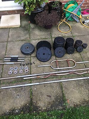 Free Weights And Bars 129.75kg