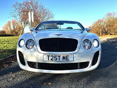 2007 (57) Bentley Continental Gtc Supersport Convertible In White! Twin Turbo!!!