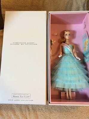 Mattel Barbie HOMECOMING QUEEN BFC EXCLUSIVE GOLD LABEL 5500 WW W/SHIPPER