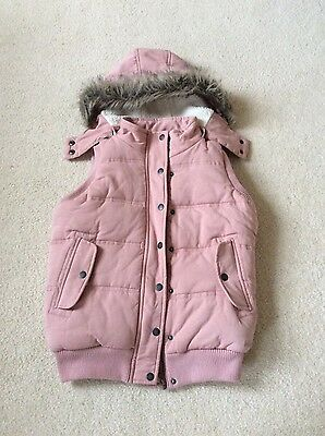 Girls Fat Face Fleece Gilet Age 12-13 years