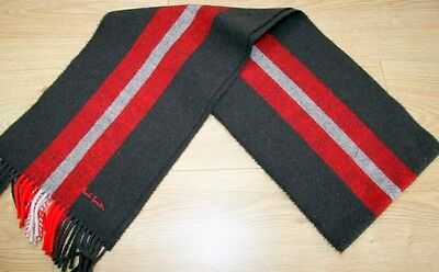PAUL SMITH  PURE LAMBSWOOL Stripe Scarf  BRAND NEW