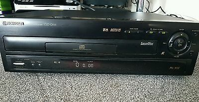 Pioneer CLD-D515 PAL/NTSC LASERDISC PLAYER  with remote