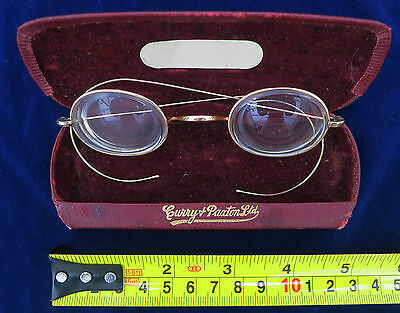 ***Pair of Antigue GOLD Old spectacles Harry Potter?