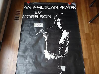 THE DOORS Jim Morrison American Prayer  Poster  VERY RARE!!!