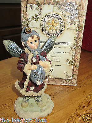 Boyd's Bears The Wee Folkstones Faeries Kristabell Faeriefrost First Ed.W/B'97